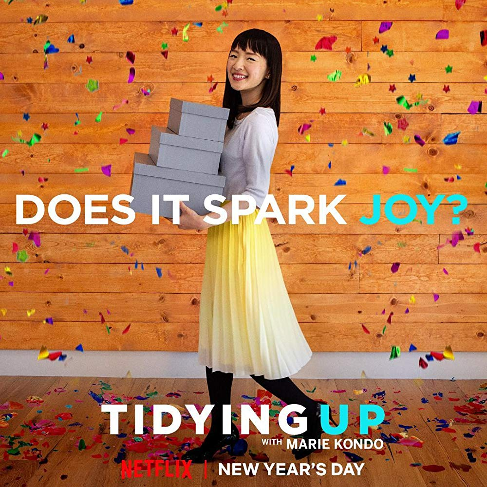 Tidying Up with Marie Kondo Netflix