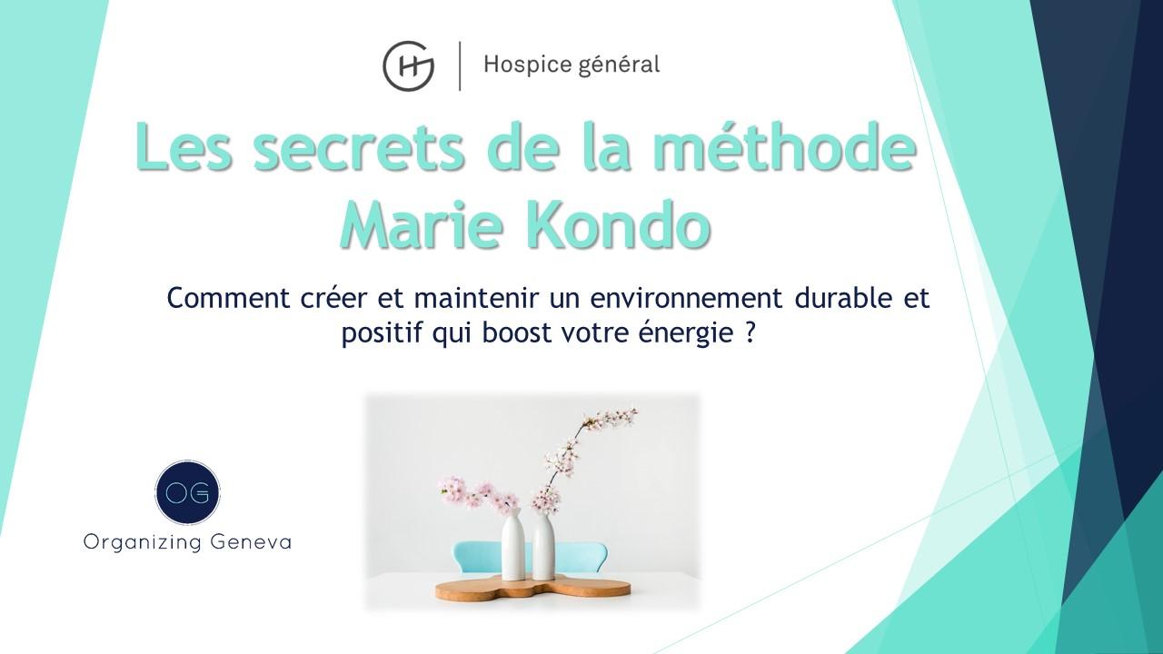 Conférence Marie kondo